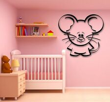 Wall Stickers Vinyl Decal Mouse Animal Decor Children's Rooms (ig753)
