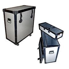"TUFFBOX DRUM TRAP ROAD CASE w/WHEELS - 1/4"" LIGHT DUTY - Small 24x12x25 High"