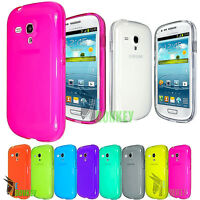 CUSTODIA CASE COVER TPU PER SAMSUNG GALAXY S3 MINI I8190 FLESSIBILE TRASPARENTE