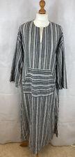 Zanzea Dress M Cotton Striped BNWT