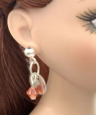 Swarovski Crystal Silver Color Earrings Fashion Dolls Tyler Tonner 1/4 Free S&H