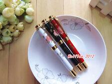 "1 pc LANBITOU Metal ""Blossom flowers"" elegant fountain pen,fine nib,665"