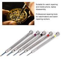 Watch Repair Eyeglass Glasses Screwdriver Kit Watchmaker Jeweler Repair Tool Set