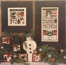 Christmas Day Prairie Schooler Cross Stitch Pattern Original 134