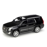 Welly 1:24 2017 Cadillac ESCALADE Diecast Model Sports SUV Car NEW IN BOX Black