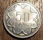 TRES BELLE PIECE DE 50 FRANCS AFRIQUE CENTRALE 1996 (210)