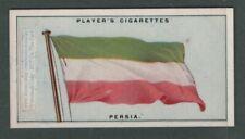 The Flag Of Persia Persian Iran 1920s Ad Trade Card