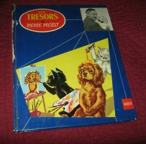 GRAND LIVRE HACHETTE 1964 LES TRESORS DE PIERRE PROBST CREATEUR DE CAROLINE PIPO