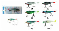 "Sebile Magic Swimmer Soft Fresh and Saltwater 130//5/"" SP23-Hollow Green 3 pcs"
