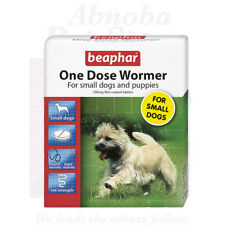 Beaphar One Dose Small Dogs & Pup effective routine control of round & tapeworm