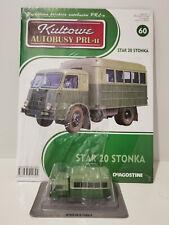 IXO IST STAR 20 STONKA Kultowe Autobusy PRL-u 1:72 no.60 polish bus kamaz scania