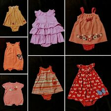 Baby Girl Size 18 Months Summer Rompers