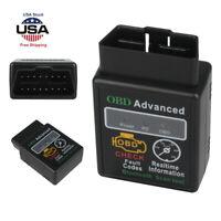 Car Bluetooth OBDII Scanner Code Reader Data Automotive Diagnostic Tool ELM 327