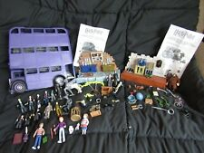 Huge Harry Potter Lot - Potions Class - Magical Creatures - Knight Bus - Figures
