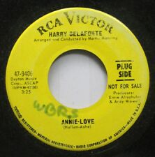 50'S & 60'S Promo 45 Harry Belafonte - Annie-Love / I'M Just A Country Boy On Rc