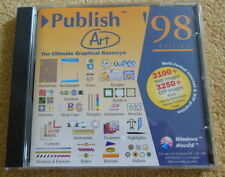 New, Unused, PublishArt 98 CD for Windows & RISC OS computers - Acorn