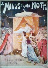 Le Mille e una Notte (Novelle arabe) - Galland (F. Bideri, 1942) - RARISSIMO