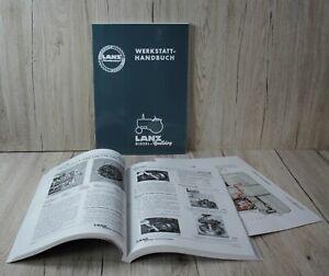 Lanz Bulldog Werkstatthandbuch Halb- und Volldiesel Traktor D1616 D1706 D1906 .