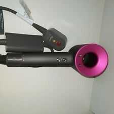 Dyson Supersonic Hair Dryer Iron/Fuschia Used HD01 Dryer only Free Shipping!