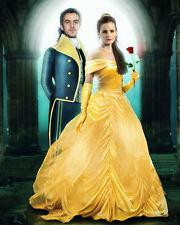 Emma Watson BELLE Dan Stevens Beauty and the Beast 8x10 photo picture print #162