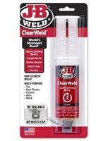 J-B Weld 50112 - Clear Weld 25ml Syringe Pack 5 Minute Quick Setting Epoxy TLB48