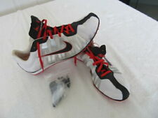 Nike 414533 101 Zoom Rival White / Red Running Spikes Shoes 11.5 US (NEW)