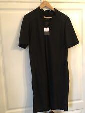 Jaeger Black Wool Dress 12 £199