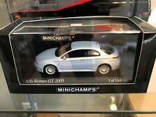 1/43 Minichamps 2003 Alfa Romeo GT - Cloud Blue Metallic - 1 of 3840