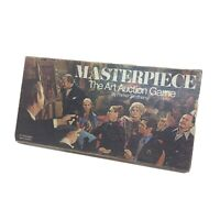 Vintage MASTERPIECE The Art Auction Board Game Parker Brothers 1970