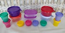 ^  14 Set Tupperware Minis Jumbo Set  Minis Midget Freezer Jar Bowl Carry Baby