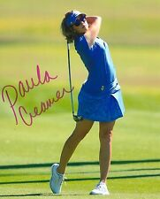 PAULA CREAMER signed LPGA 8x10 photo with COA B