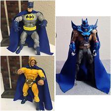 Custom Marvel Legends Blue Cape For Figure Motu Classic Dc Collectibles Batman