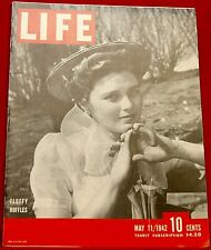 Life Magazine May 11, 1942 Artist Barse Miller Near Mint Condition