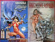 Vampirella * Shadowhawk Complete Set 1-2 Signed By Jim Valentino 1995 Nice!