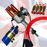 AccuSpark Pack for  Ford Pinto,Electronic Distributor,Ballast coil , Red leads