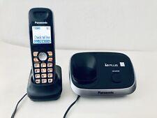 Panasonic Kx-Tg6511 6.0 Plus Cordless Phone w/1 Handset w/2 Chargers. Excellent