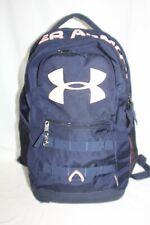 Under Armour BackPack School Bag Navy Blue Pink Logo Sports Bag