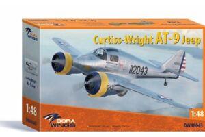 Dora Wings 1/48 48043 Curtiss-Wright AT-9 Jeep plastic kit