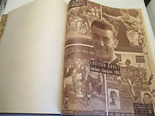 Reliure Miroir Sprint de 1951 des n°238 à 289 inclus le tout en très bon état.