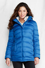 LANDS' END PM (10-12) Boreal Blue Everyday Down Parka or Coat NWT
