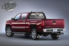 Headache Rack American Flag/Eagle Universal Fit Full Size Trucks