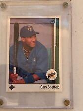 Gary Sheffield 1990 Rookie card
