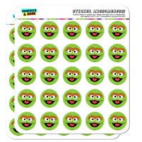 Sesame Street Oscar the Grouch Face Planner Calendar Scrapbooking Stickers