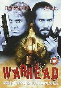 Warhead DVD War Head 1996 Joe Lara Frank Zagarino Nuclear Disaster Action Movie