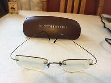 081bf83f25 Scott Harris Rx Eyeglasses with case
