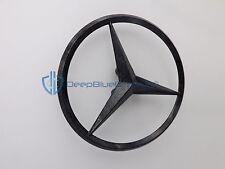 Mercedes-Benz SLK-Class Carbon Fiber Star Emblem 2005-2011 OEM Rear Trunk Badge
