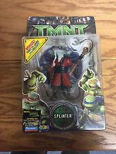 Splinter 2006 TMNT Splinter Action Figure w weapons Teenage Mutant Ninja Turtles