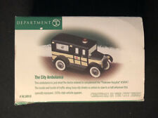 """Department 56 Christmas In The City """"The City Ambulance� #58910"""