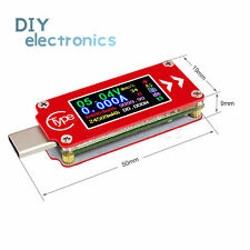 TC64 Type-C color LCD USB Ammeter Voltage Current Meter  PD USB Tester US