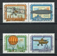 32377) HUNGARY 1974 MNH** Aerophila Aircrafts 4v.